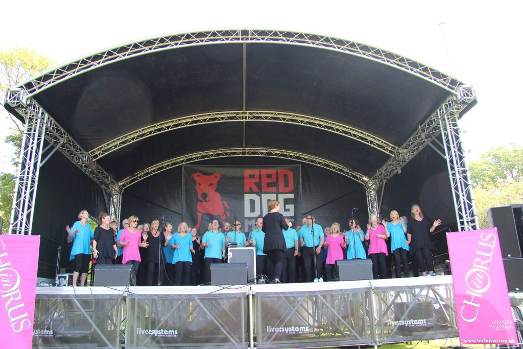 InChorus at the Meadows Festival June 2016