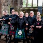 InChorus singing at Wedding at Melrose Abbey