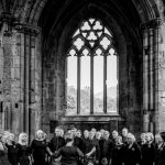 InChorus performing at Wedding at Melrose Abbey
