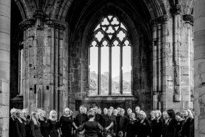 InChorus performing at Wedding at Melrose Abbey