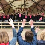 InChorus Choir on Stage at Eden Festival